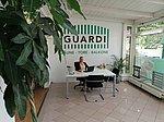 Doreen Richter am Empfang der ersten GUARDI-Ausstellung in Deutschland