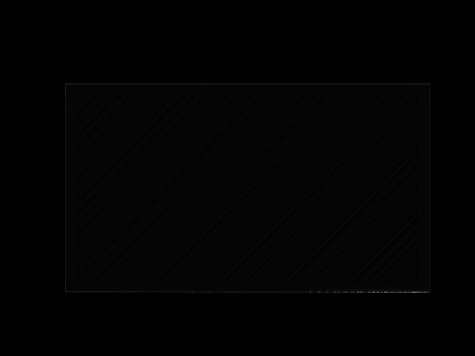 Blickdichtes Zaunfeld in anthrazit, Modell Umbria diagonal rechts, auf weißem Hintergrund