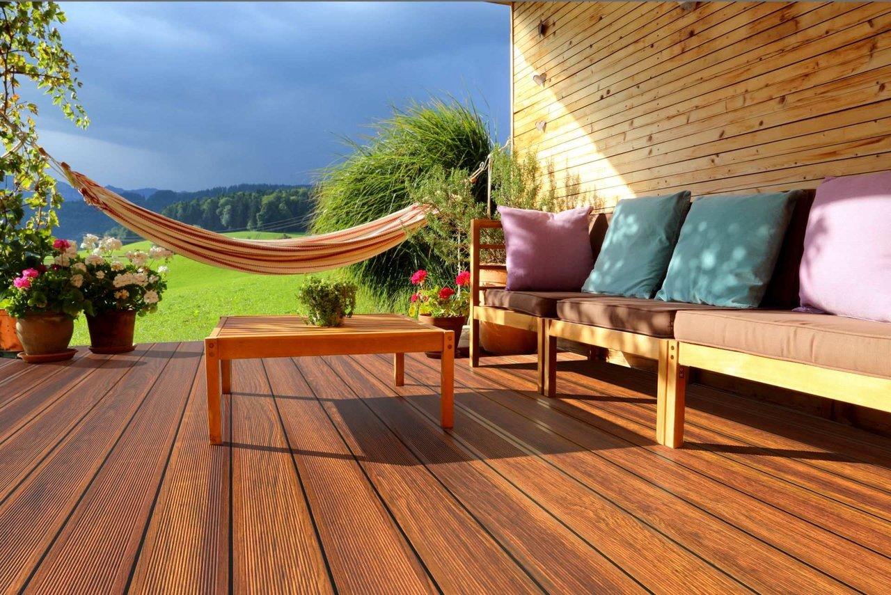 Terrassenboden aus Alu   pflegeleicht   Guardi