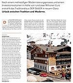 Textauszug aus dem New Business Magazin über die neue Umzäunung des Hotel Sailer von GUARDI