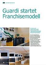 Bild des FOBS-Magazins mit einem Artikel über das GUARDI-Franchisemodell