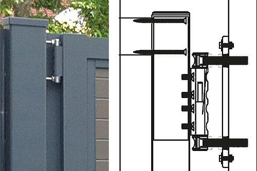 Skizze und Foto vom GUARDI Powerband für Tore