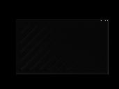Zaunfeld mit 82mm Profil in anthrazit, Modell Umbria diagonal rechts, auf weißem Hintergrund