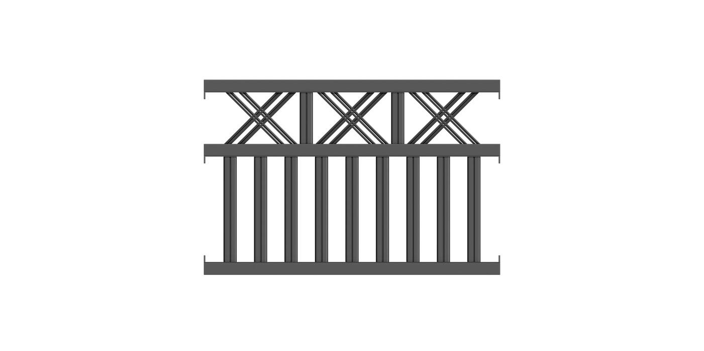 Modena, Guardi, Österreich, Aluzaun, Zaun, Aluminium, klassisch,