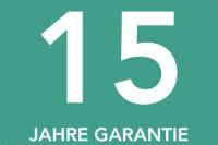 15 Jahre Garantie